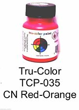 Tru-Color TCP-035 CN Canadian National Red-Orange 1 oz  Paint Bottle