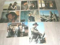 8  AHF,Kino Aushangfotos- ERBARMUNGSLOS ,mit Clint Eastwood, Gene Hackman.