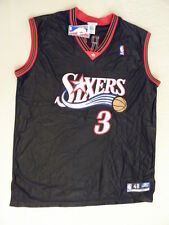 Reebok Allen Iverson Authentic Philadelphia 76ers Sixers jersey size 48 XL NWT