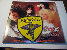 MOTLEY CRUE ~ DR. FEELGOOD b/w STICKY SWEET~ with PATCH~ EXR 97~1989~ EXCELLENT+