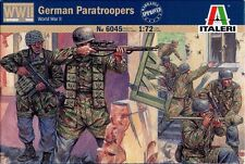 Italeri Ww2 German Paratroopers - 1/72 Plastic Model Soldier Kit- Item