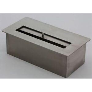 BRUCIATORE 1,6 lit FDB25 professionale acciaio inox per biocamino