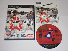 All-Star Baseball 2002 Japan Import PlayStation 2 PS2