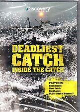 Deadliest Catch: Inside The Catch-DVD-Region 1-Brand New-Still Sealed