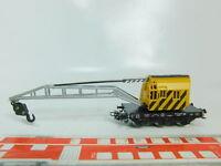 BP112-0,5# Märklin H0/AC 4671 Kranwagen/Güterwagen DB
