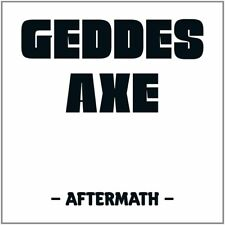 GEDDES AXE - AFTERMATH (DIGIPACK)   CD NEU