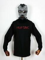 Huf Worldwide Skate Shoes Longsleeve LS T-Shirt Tee The Ladies Emb Black in M