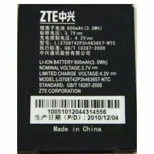 ZTE Li3708T42p3h463657 BATTERY FOR Miami C78 C79 C88 Skype N281 800mAh