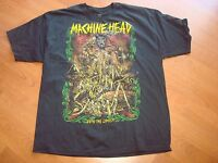 MACHINE HEAD UNTO THE LOCUST  LIC. 2012 DEADSTOCK shirt Sz LARGE