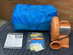 Airflow 6ftBouncy Castle with Safety Enclosure, Storage Bag & Air Blower