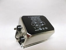 SCHAFFNER FN 660-10/06 Power line filter 110/250VAC 10A used VGC