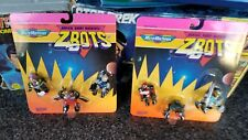 Vintage Micro Machines MoC ZBOTS - Robots New Old Stock Pair