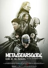 Poster A2 Metal Gear Solid 4 Guns of the Patriot Videojuego Videogame Cartel 01