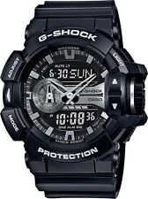 Brand New Casio G Shock GA400GB-1A Rotary Black Ana Digi Men's Watch NWT!!