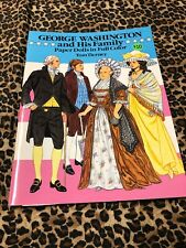 Paper Dolls Tom Tierney Uncut George Washington and His Family 1989