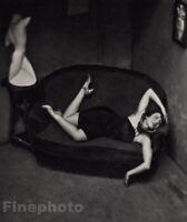 1926/72 Vintage Satiric Dancer ANDRE KERTESZ Woman Fashion Sculpture Photo Art