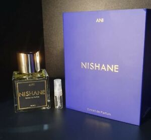 NISHANE ANI EXTRAIT DE PARFUM  2ML PERFUME SAMPLE IN GLASS ATOMISER SPRAY NEW