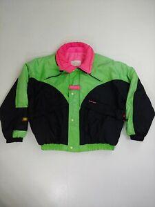 Vintage Sunice Jacket Colour Block medium Snow Ski 80s retro gaper board neon
