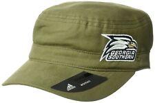 adidas NCAA Georgia Southern Eagles Women's Army Green Military Snapback Hat Cap