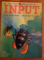Input. Vintage Computer Magazine. Issue 20. Spectrum, C64, Dragon, Electron, BBC