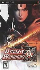 Dynasty Warriors (Sony PSP, 2005) Complete