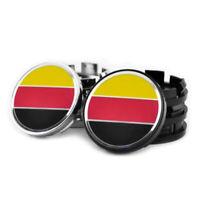 4x 60mm Deutsche Flagge Felgendeckel Nabendeckel Nabenkappen