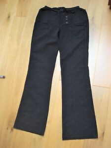 LE JEAN DE MARITHE + FRANCOIS GIRBAUD Black Pants Trousers Medium