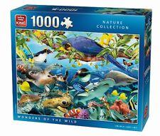 1000 Piece Jigsaw Puzzle Tropical Animals & Birds Wonders Of The Wild 05482
