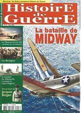 HISTOIRE DE GUERRE N°47 LA BATAILLE DE MIDWAY / MESSERSCHMITT 262 / J. BINGEN