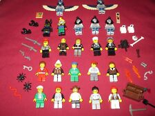 LEGO Pharaoh's Quest Minifigures LOT Pharaoh,Mummies,Explorers,Guns,Snake +more