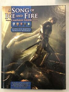 A Song Of Ice And Fire Game of Thrones Campaign Guide RPG Hardcover Very Good!