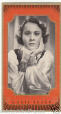 1. GUSTI HUBER  ACTRESS ACTRICE UNITED STATES ÉTATS UNIS IMAGE CARD 30s