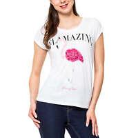HAILYS Damen-Shirt /> FIONA/<  mit floralen Drucke Kurzarm
