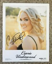 Carrie Underwood Autographed Photo Signed American Idol