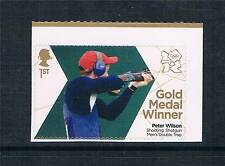 GB 2012 OLYMPIC GOLD MEDAL SHOOTING PETER WILSON 1v S/ADH