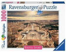 NEW Ravensburger 1000 Piece Rome Italy Beautiful Skylines Cities Puzzle
