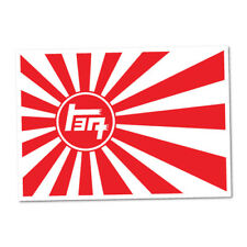 TOYOTA VINTAGE TEQ RISING SUN JDM Sticker Decal Car  #0208