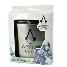 ASSASSINS CREED UNITY HIP FLASK Official Licensed - 6oz Stainless steel - Gift