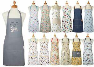 New Cooksmart Cotton  Aprons  Kitchen Multi-Various Adults Apron
