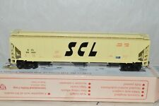 HO scale IHC Seaboard Coast Line RR PS grain covered hopper car train w/ KD's
