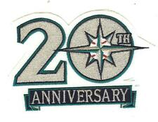 Seattle Mariners 20th Anniversary Logo Patch 100% Authentic & MLB Licensed