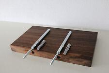 Wandboard Nussbaum Wild Massiv Holz Board Regal Steckboard Regalbrett NEU