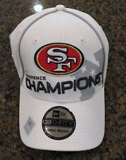 NEW San Francisco 49ers 39 Thirty Licensed NFL 2012 Conference Champions Hat Cap