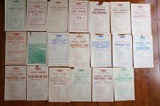 More details for 1940s london midland region railway handbills timetable x20 ref f