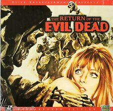 The Return of the Evil Dead Laserdisc (1973) [EE8663] NEW B-Movie Cult Horror LD