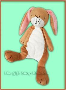 GUESS HOW MUCH I LOVE YOU LITTLE NUTBROWN HARE BEAN RATTLE SUPER SOFT PLUSH TOY