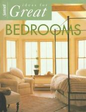 Ideas for Great Bedrooms (Ideas for Great Rooms) Sunset Books Paperback
