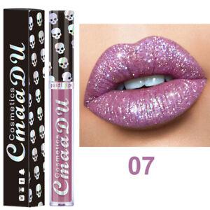 shiny diamond Glitter lipstick waterproof liquid matte makeup cosmetics Makeup