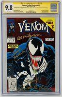 Venom Lethal Protector #1 CGC 9.8 Marvel 1993. Signed Bagley, Milgrom + 2 More
