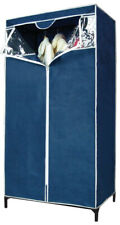 Closet Locker Wardrobe Tnt Blue CMS 80x46x150h Camping Home